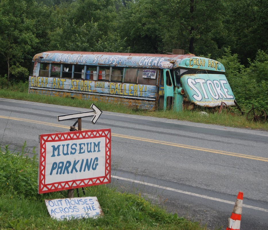 Parking, Cheap Art and Outhouses
