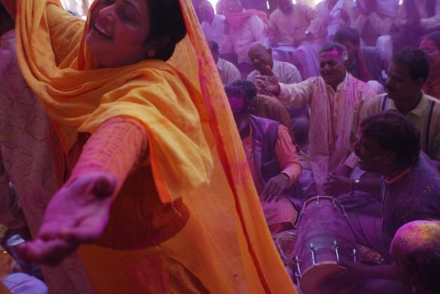 Holi, the festival of color, India- 1