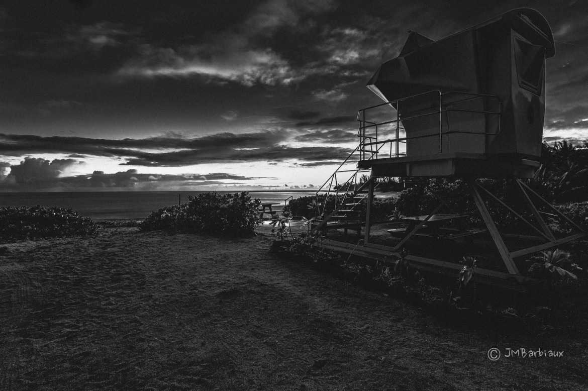 Black And White Landscape Travel Photography In Hawaii