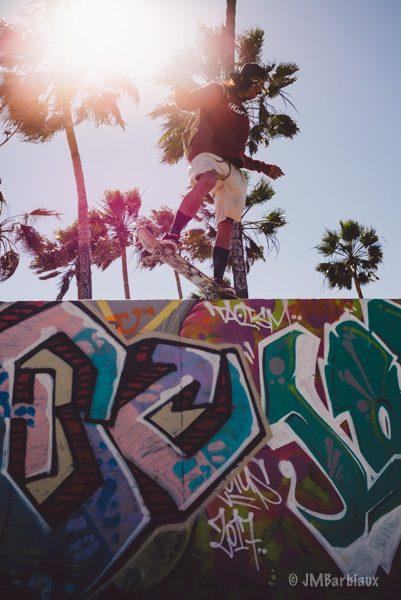 Venice Beach, Santa Monica, Street Photography, Fine art, skateboard, sunflare
