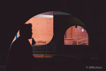 Pittsburgh, street photography, layering, color, shadow, silhoutte,
