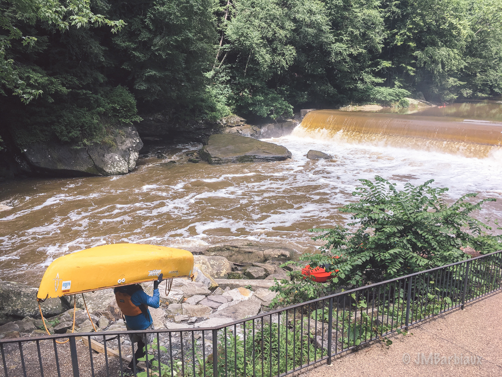 Kayak, white water, mcconnilles mill, pittsburgh, butler