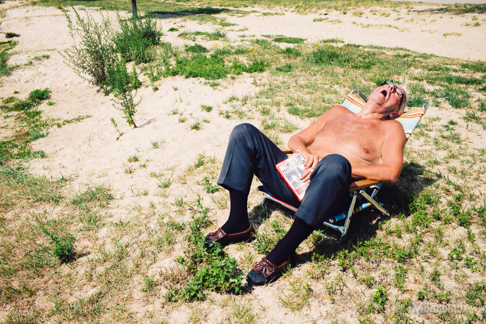 Boston, street photography, sunbathing, sleeping, south boston, beach