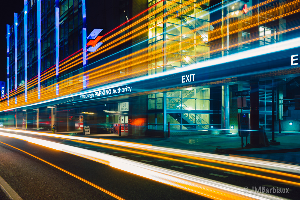 Light Trails, Leica M10, Street Photography, Urban Landscape