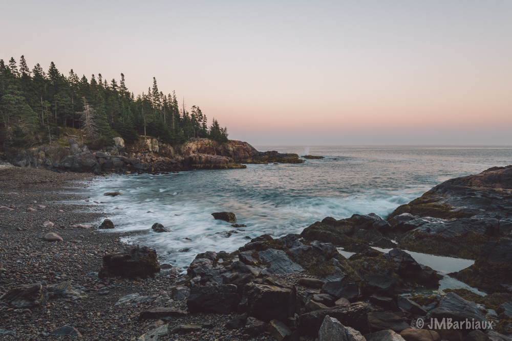 Acadia, sunset, Nikon D850, beach, hike