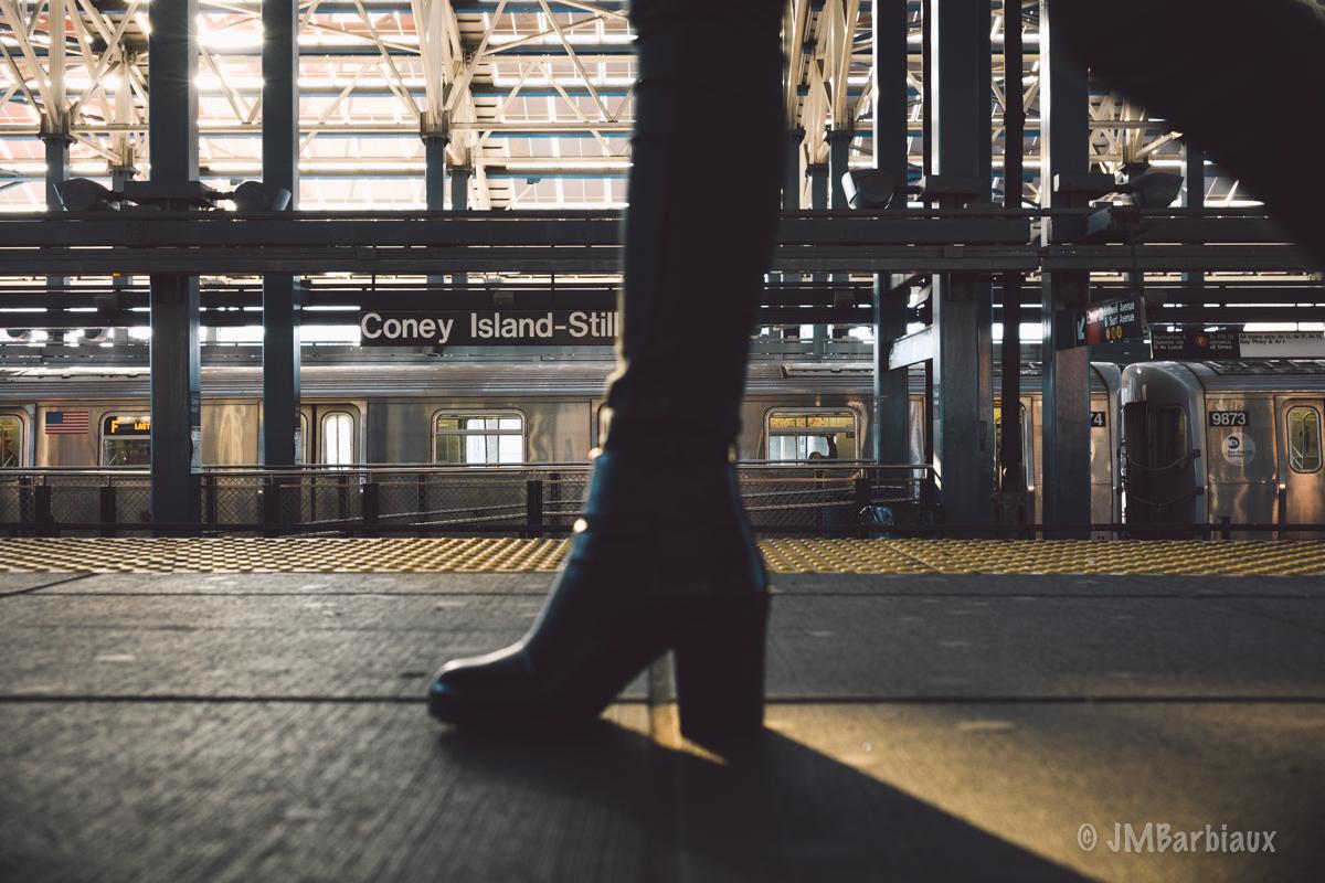 coney island, fashion, street photography, shoe, boot, leica m10, leica, beach, brooklyn