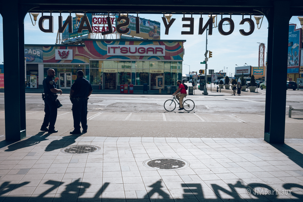 Street photography, coney island, new york, brooklyn, subway, leica m
