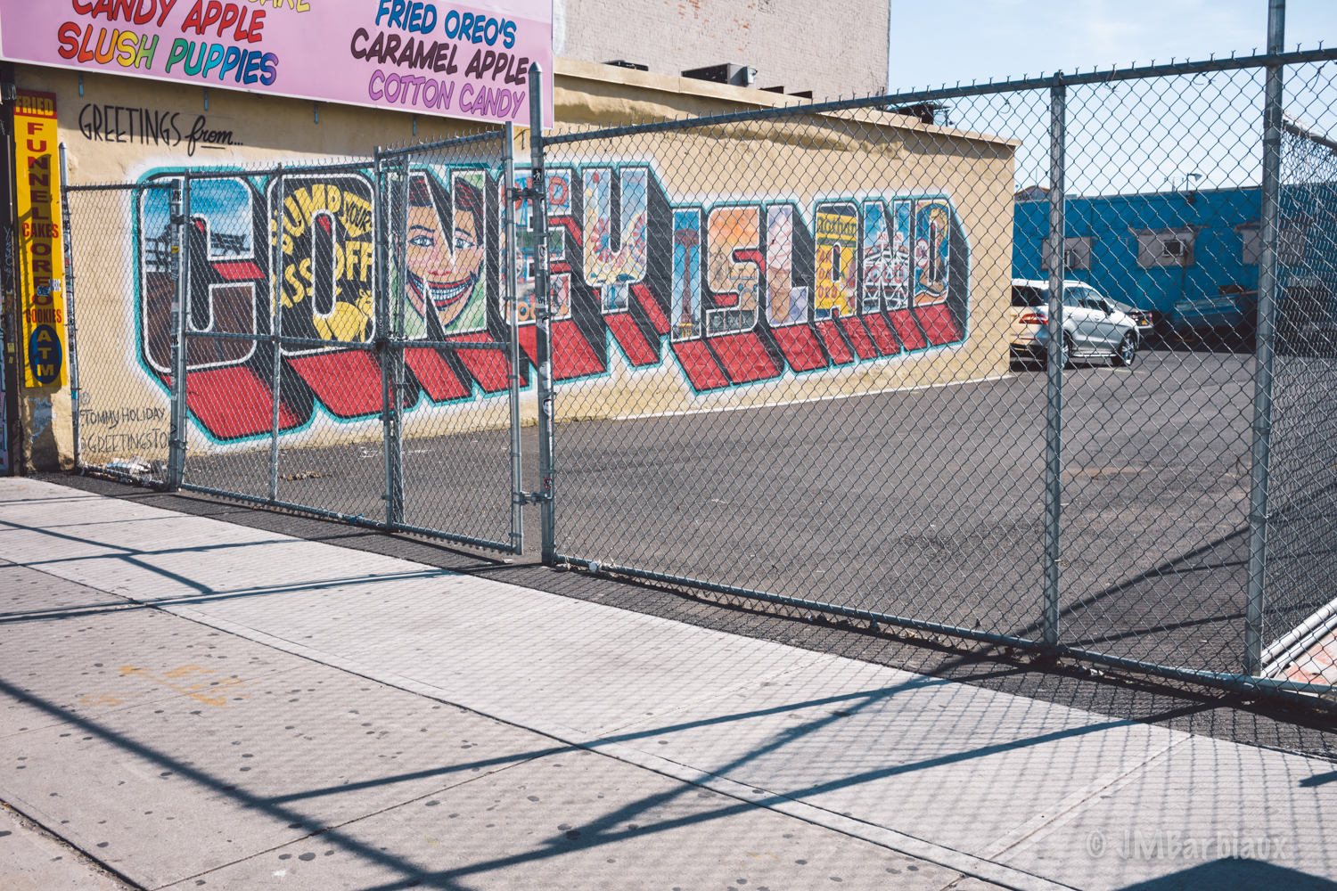 Coney Island, mural, street photography, new york, brooklyn, leica m, street photography