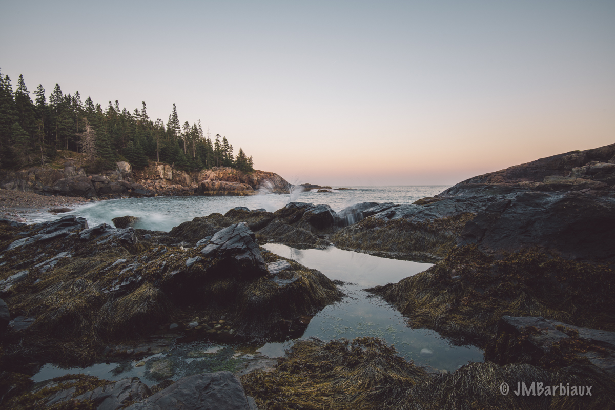 landscape photography, acadia national park, nikon, 16-35mm