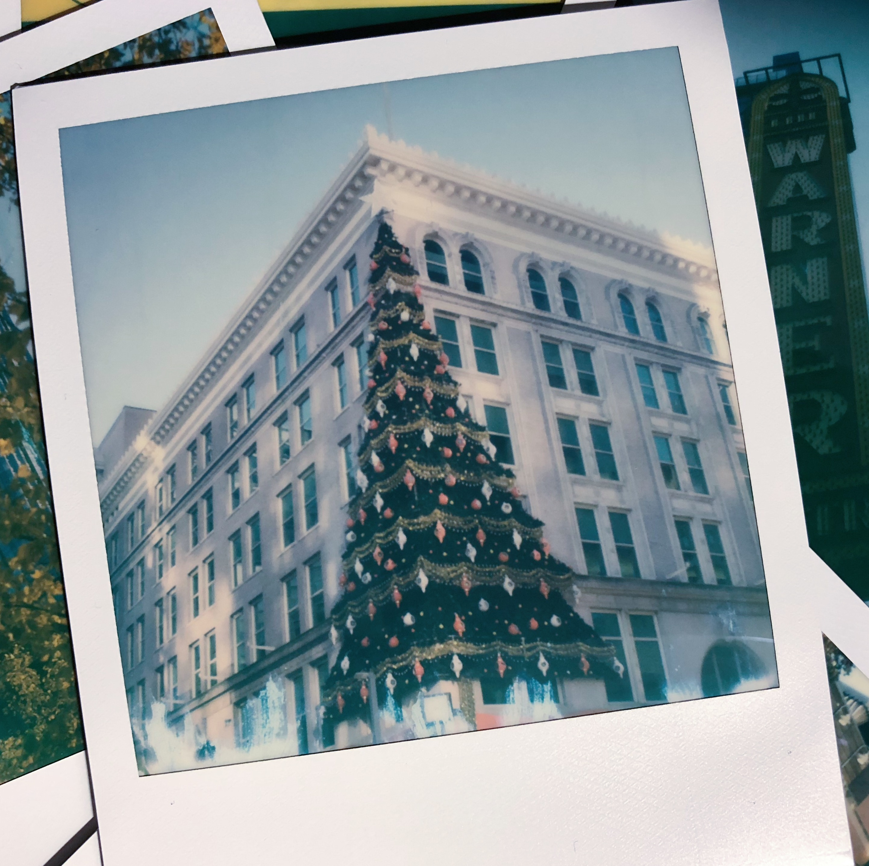 Polaroid, SX-70, land camera, fine art, pittsburgh, christmas