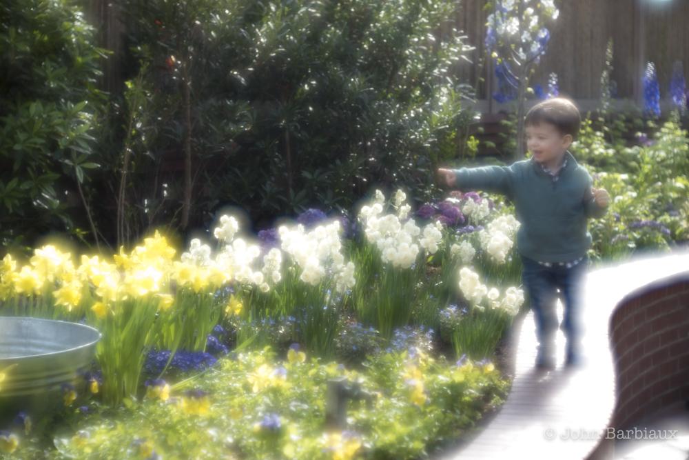 son, benji, thambar, phipps conservatory, pittsburgh