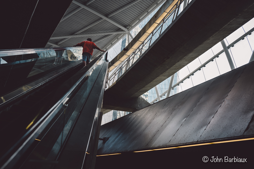 Pittsburgh, street photography, downtown, cityscape, subway, Leica m10, escalator, urban