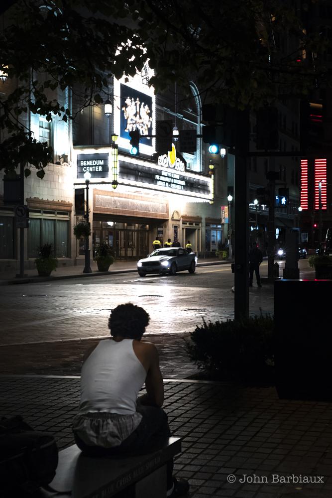 Pittsburgh, Leica, street photography, Benedum theater, low light,
