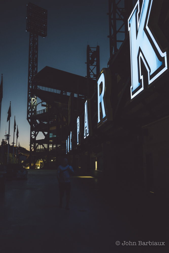 street photography, pittsburgh, pnc park, Pittsburgh Pirates, Pirates, sunset, leica, leica m10