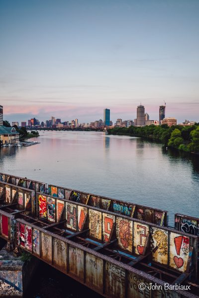Charles River, Boston, Leica M10-P, Leica, Urban Landscape, sunset, graffiti, MIT,