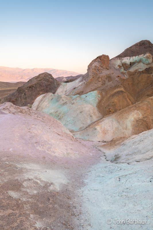artists pallet, Death Valley,death valley national park, sunrise, landscape, fine art