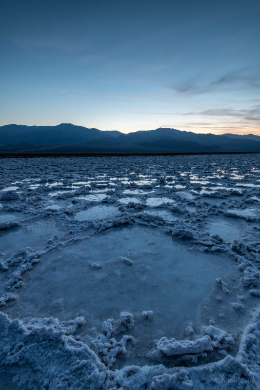 Badwater Basin, Death Valley, Landscape photography, travel photography, sunset, Nikon D850