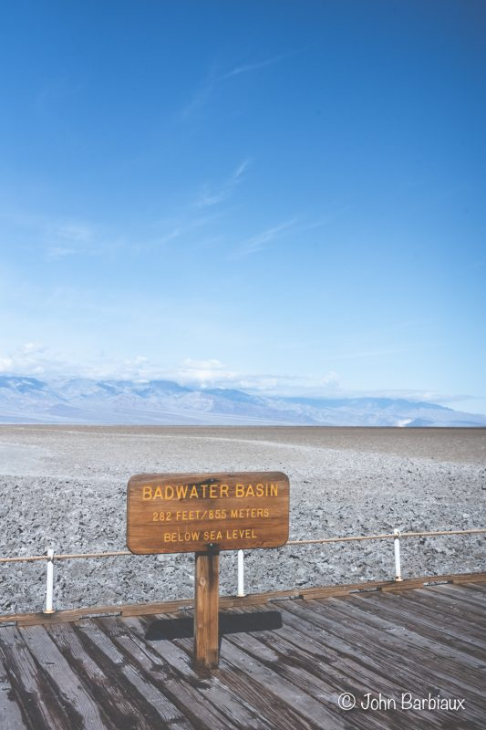 Badwater Basin, Death Valley, desert, hiking, national park,
