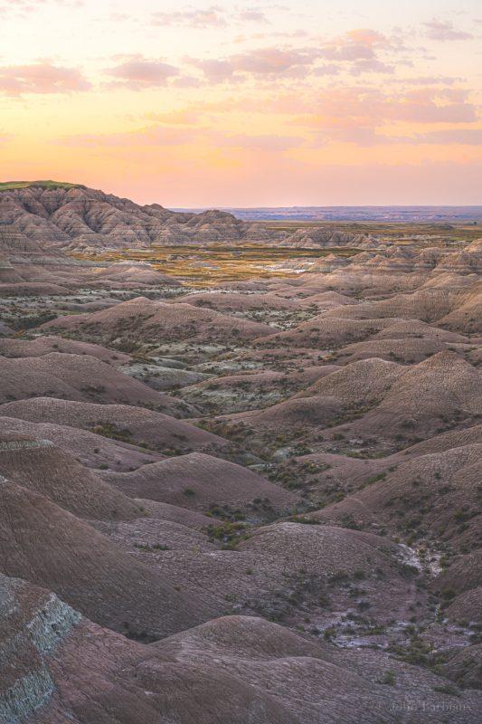 Badlands, badlands national park, sunrise, fine art, Nikon z7, hike, South Dakota, travel