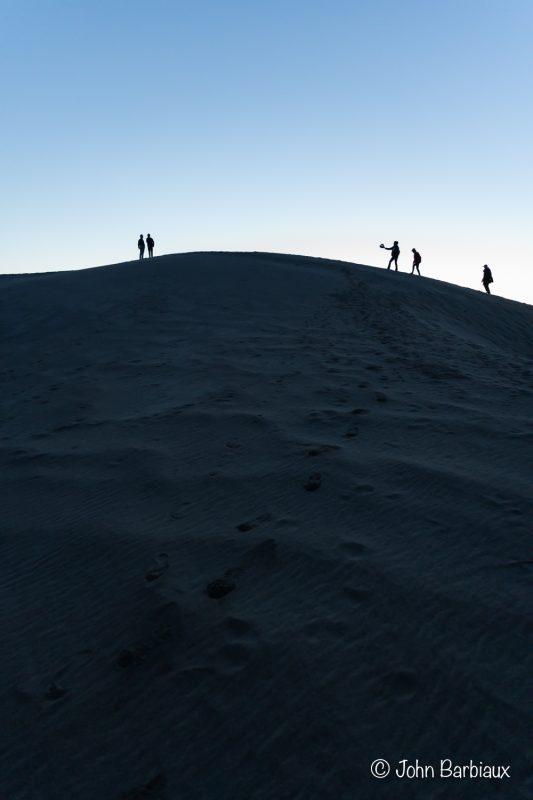 Death Valley, Mesquite Sand Dunes, Sunrise, Nikon, Z7, Silhouette