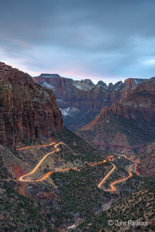 Zion, zion National park, national park, hiking, travel, sunset, Utah