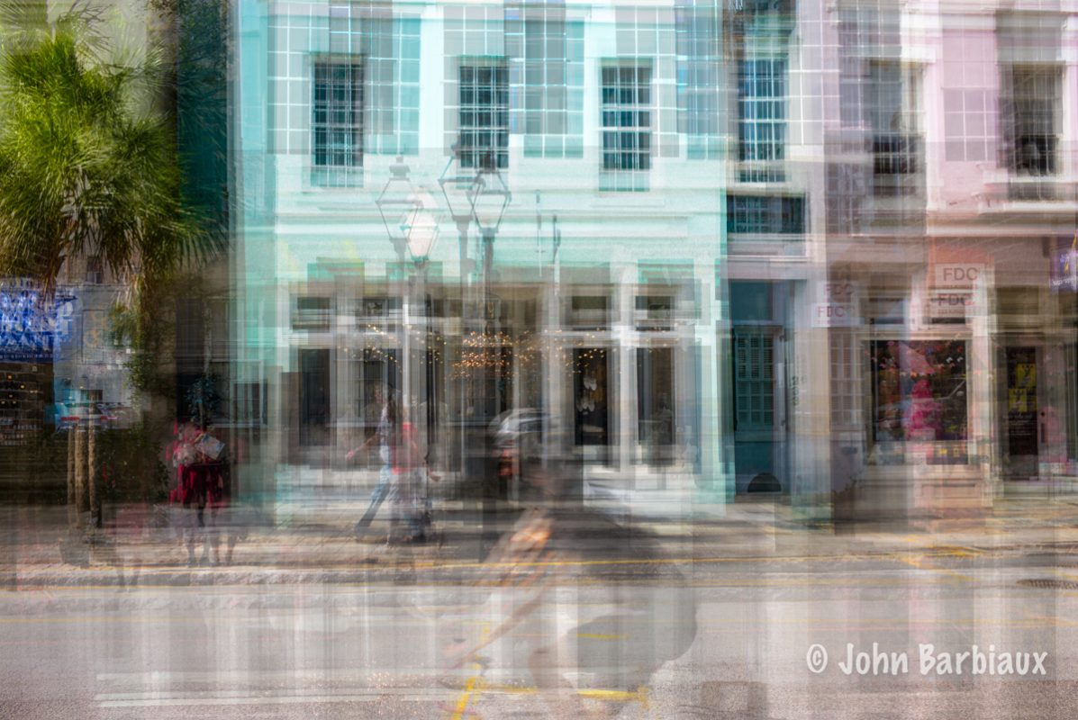 Charleston, Leica, street photography, abstract, multiple exposure, South Carolina, architecture